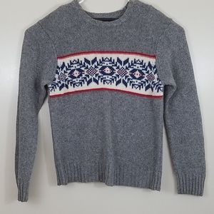 Aeropostale Gray Knitted Sweater Large